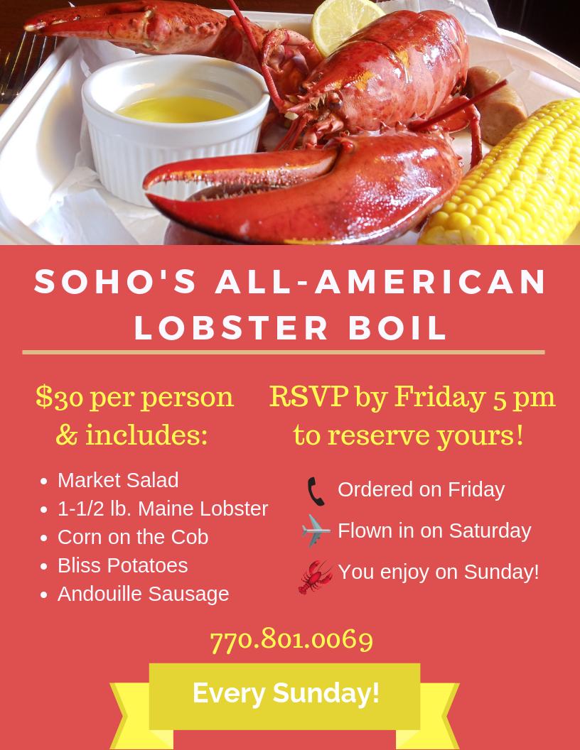 SOHO's All-American Lobster Boil (1)